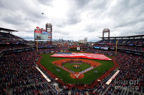 Photograph - Washington Nationals V Philadelphia by Rich Schultz