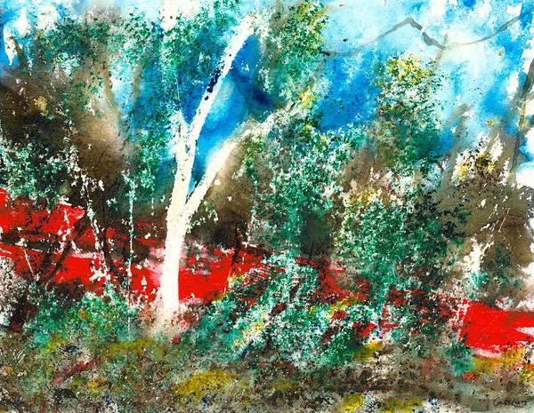 Post-it Painting - Wazungu by Cassian Sibley