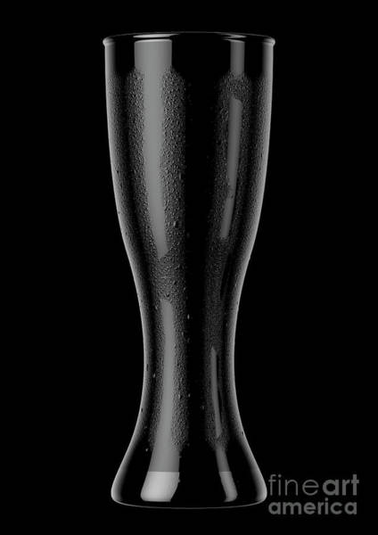 Frosty Digital Art - Weizen Beer Pint by Allan Swart