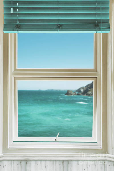 Wall Art - Photograph - Window Overlooking The Ocean by Amanda Elwell