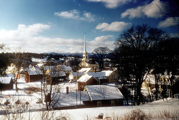 Vermont Photograph - Winter In Vermont by Michael Ochs Archives