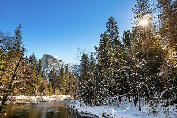Wall Art - Photograph - Winter Views Of Spectacular Yosemite National Park by Jamie Pham