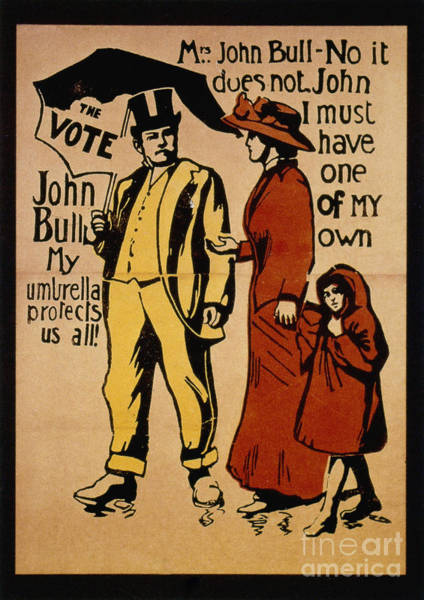 Photograph - Women's Rights Poster by Granger