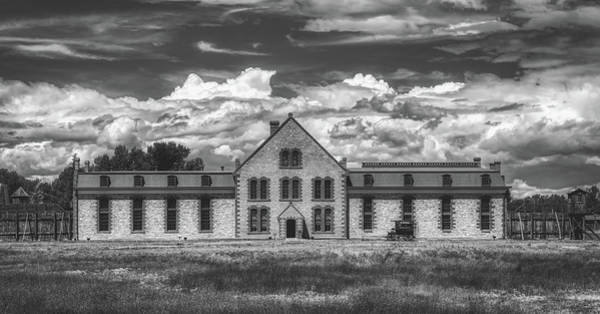 Wall Art - Photograph - Wyoming Territorial Prison - Laramie by Mountain Dreams
