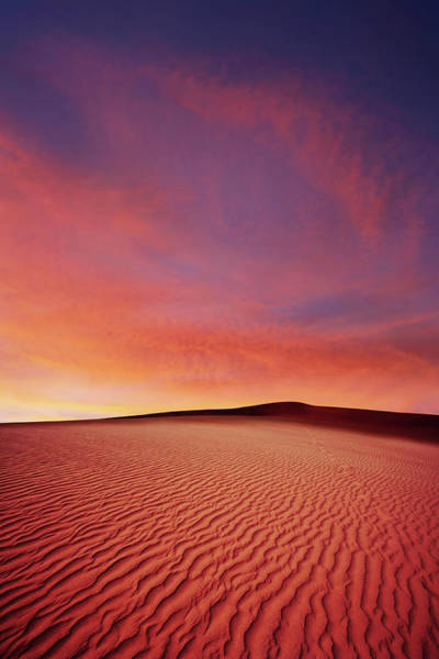 Exploration Photograph - Xl Desert Sand Sunset by Sharply done