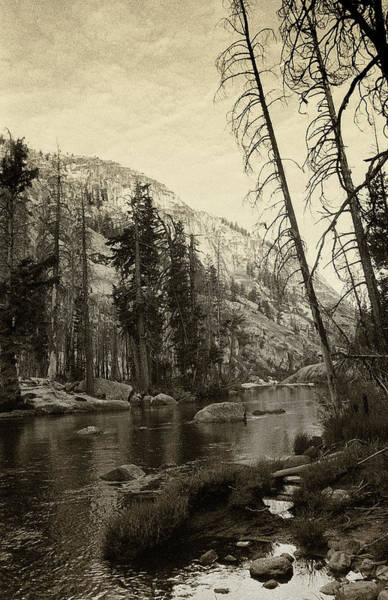 Photograph - Yosemite National Park - Black And White by Rick Veldman