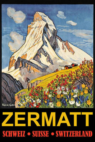 Peak Digital Art - Zermatt by Long Shot