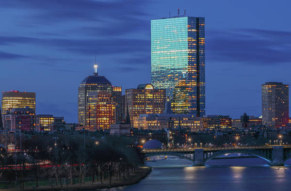 Photograph - 200 Clarendon With Longfellow Bridge by Juergen Roth