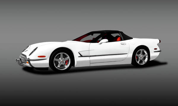 Wall Art - Photograph - 2000 C5 Chevrolet Corvette Custom  -  2000c5corvettecustomcvgray196782 by Frank J Benz