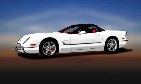Wall Art - Photograph - 2000 C5 Chevrolet Corvette Custom  -  2000c5customcorvetteconvertible196782 by Frank J Benz