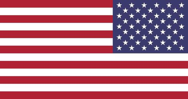 Wall Art - Painting - 2000px-flag_of_the_united_states_ Reversed Svg by Celestial Images