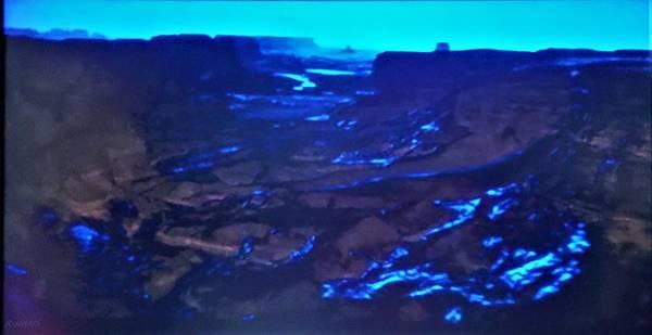 Photograph - 2001 Blue Lava Field by Rob Hans