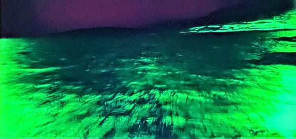 Photograph - 2001 Green Lava Field by Rob Hans