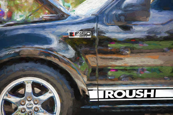 Wall Art - Photograph - 2006 Ford 150 Roush Edition Truck 101 by Rich Franco