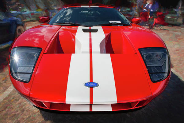 Photograph - 2006 Ford Gt40 102 by Rich Franco