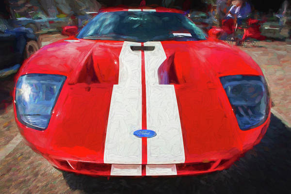 Photograph - 2006 Ford Gt40 103 by Rich Franco