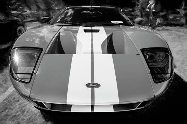 Photograph - 2006 Ford Gt40 105 by Rich Franco
