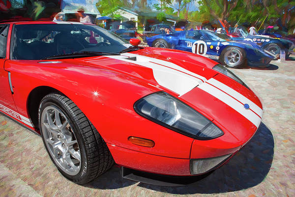 Photograph - 2006 Ford Gt40 108 by Rich Franco