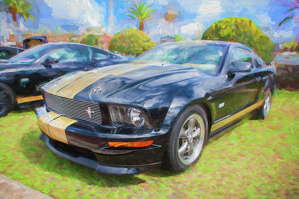 Photograph - 2006 Ford Hertz Shelby Mustang Gt-h 102 by Rich Franco