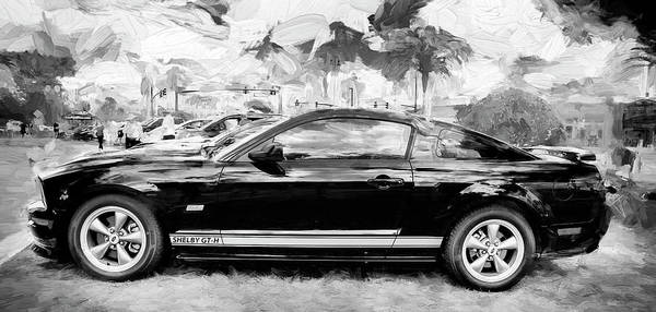 Photograph - 2006 Ford Hertz Shelby Mustang Gt-h 103 by Rich Franco
