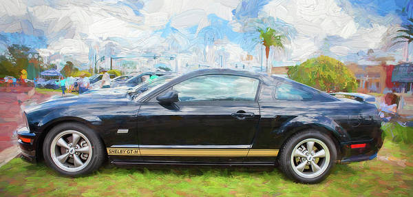 Photograph - 2006 Ford Hertz Shelby Mustang Gt-h 105 by Rich Franco