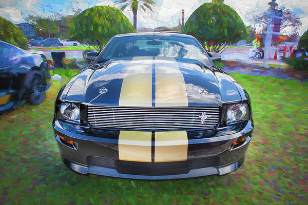 Photograph - 2006 Ford Hertz Shelby Mustang Gt-h 106 by Rich Franco