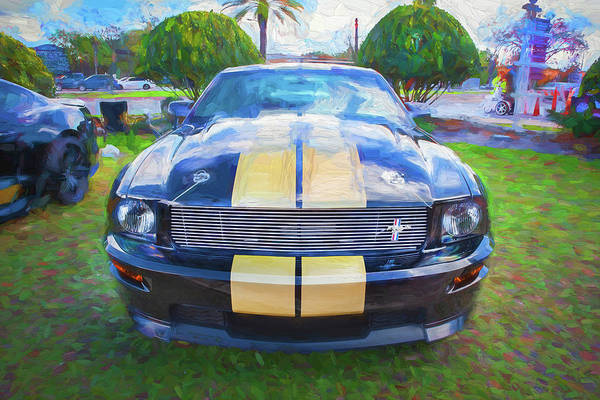 Photograph - 2006 Ford Hertz Shelby Mustang Gt-h 108 by Rich Franco