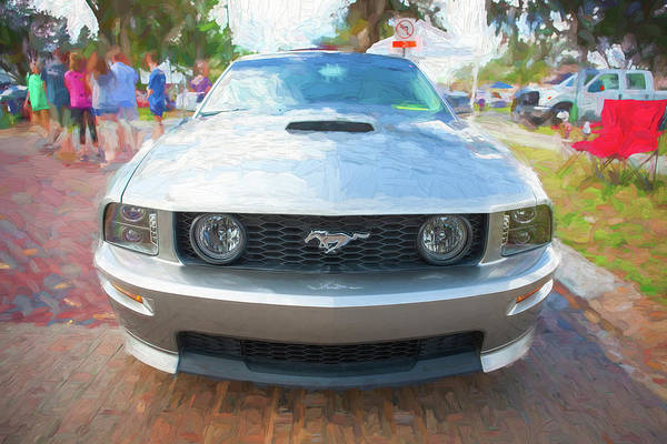 Photograph - 2009 Ford Shelby Mustang Gt Cs California Special 200    by Rich Franco