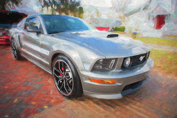 Photograph - 2009 Ford Shelby Mustang Gt Cs California Special 205     by Rich Franco