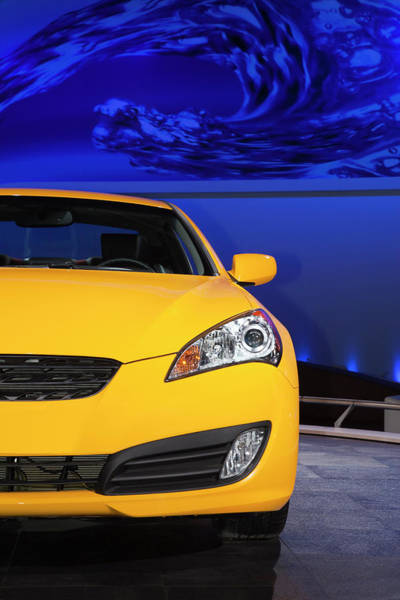 Sport Car Photograph - 2010 Hyundai Genesis Coupe by Car Culture