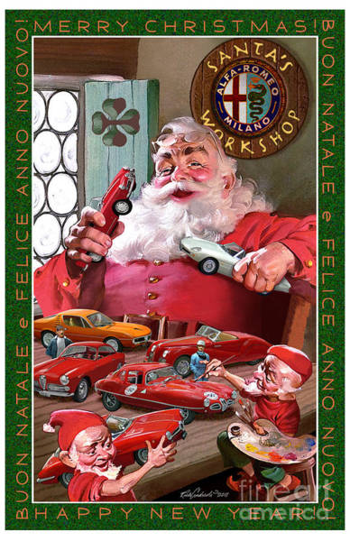 2011 Alfa Club Christmas Card Art Print