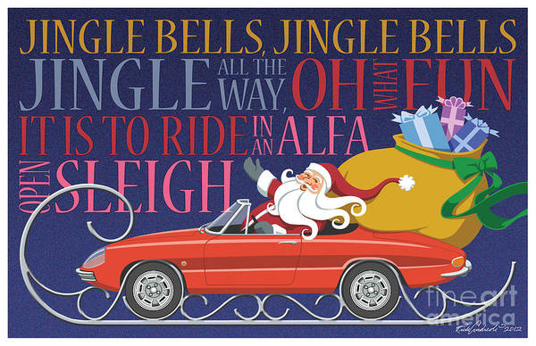 2012 Alfa Club Christmas Card Art Print