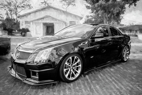 Wall Art - Photograph - 2012 Cadillac Cts-v700 Hennessy A103 by Rich Franco