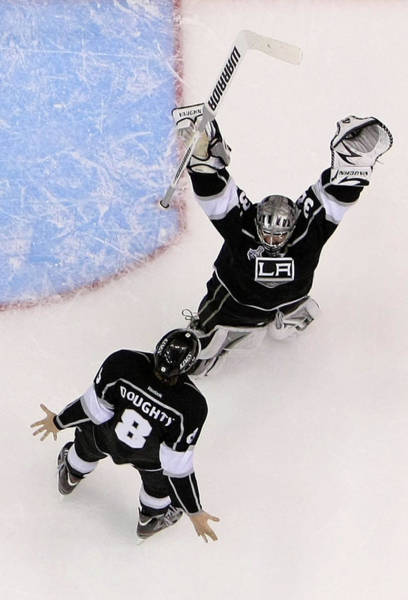 Ice Hockey Photograph - 2012 Nhl Stanley Cup Final – Game Six by Jeff Gross