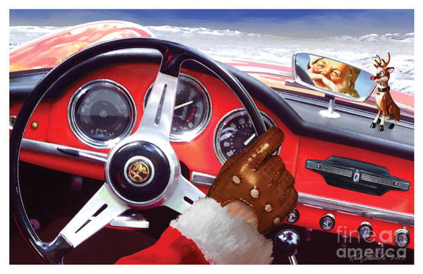 2013 Alfa Club Christmas Card Art Print