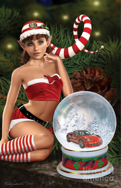 2015 Alfa Club Christmas Card Art Print