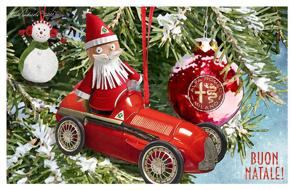 2016 Alfa Club Christmas Card Art Print