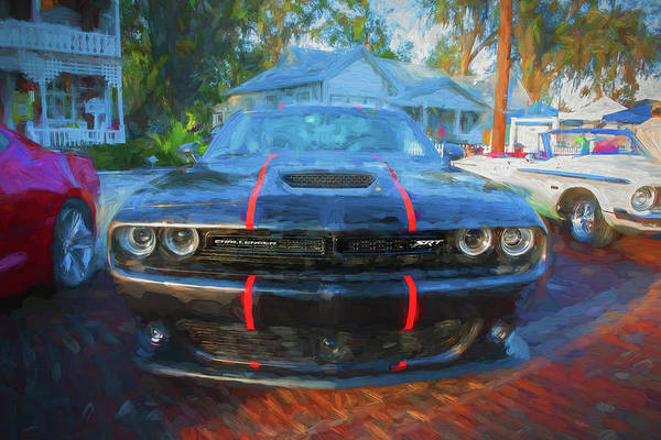 Wall Art - Photograph - 2016 Dodge Challenger Srt 392 Hemi 104 by Rich Franco