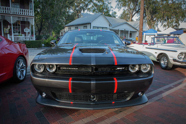 Wall Art - Photograph - 2016 Dodge Challenger Srt 392 Hemi  105 by Rich Franco