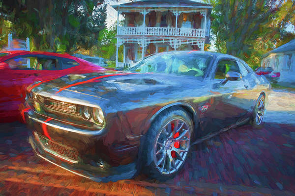Wall Art - Photograph - 2016 Dodge Challenger Srt 392 Hemi 106 by Rich Franco
