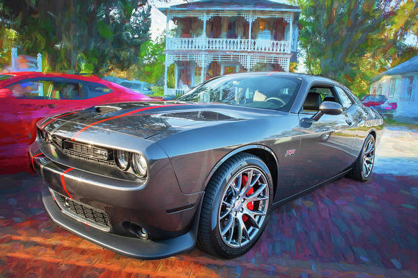 Wall Art - Photograph - 2016 Dodge Challenger Srt 392 Hemi 108 by Rich Franco