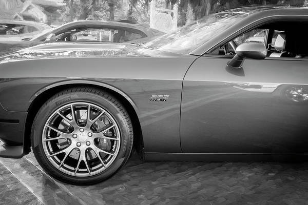 Wall Art - Photograph - 2016 Dodge Challenger Srt 392 Hemi 109 by Rich Franco