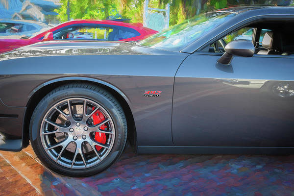 Wall Art - Photograph - 2016 Dodge Challenger Srt 392 Hemi 110 by Rich Franco