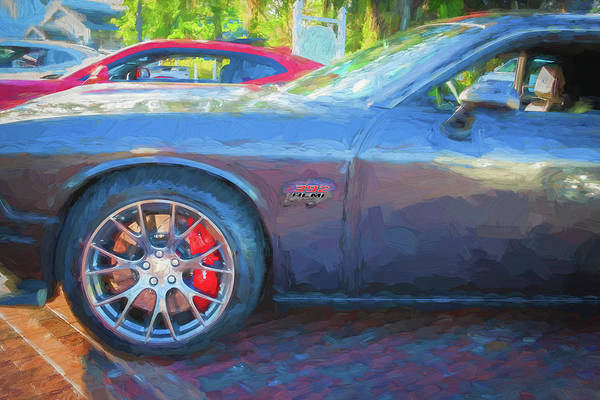 Wall Art - Photograph - 2016 Dodge Challenger Srt 392 Hemi 111 by Rich Franco