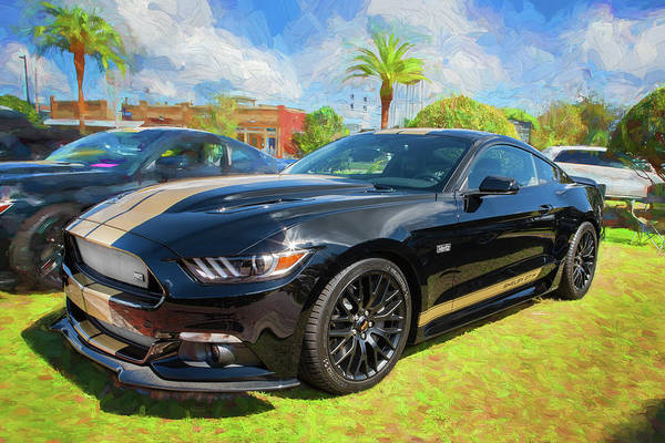 Photograph - 2016 Ford Hertz Shelby Mustang Gt-h 103 by Rich Franco