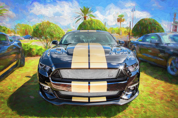 Photograph - 2016 Ford Hertz Shelby Mustang Gt-h 106 by Rich Franco