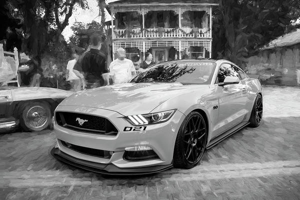 Photograph - 2016 Ford Mustang Petty's Garage 001 by Rich Franco