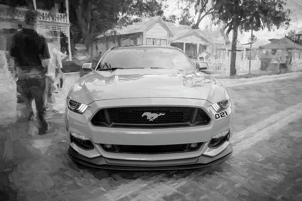 Photograph - 2016 Ford Mustang Petty's Garage 003 by Rich Franco
