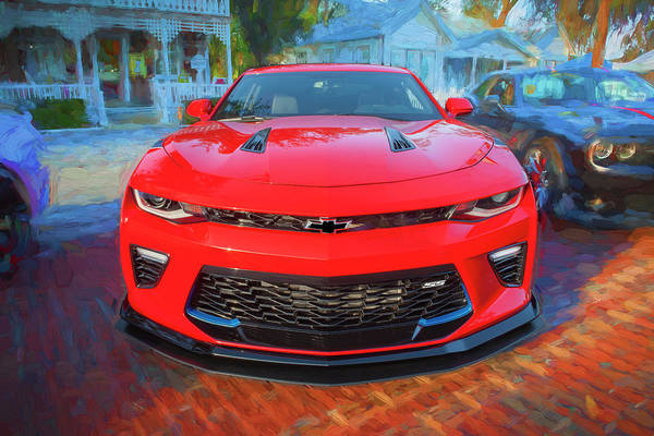 Wall Art - Photograph - 2017 Chevrolet Camaro Ss2 101 by Rich Franco