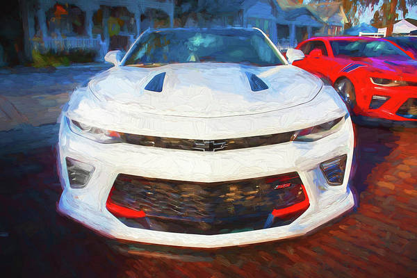 Wall Art - Photograph - 2017 Chevrolet Camaro Ss2 108 by Rich Franco